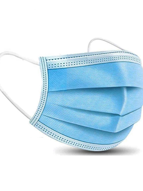 Disposable 3-ply type IIR medical mask (pack of 50)