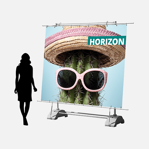 Horizon Outdoor Display - Adjustable Size
