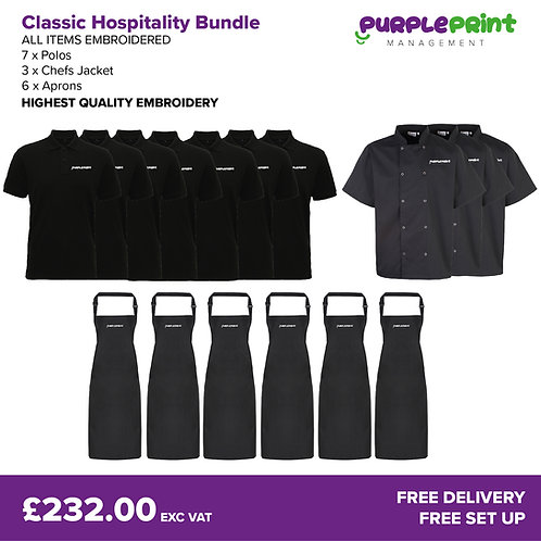 Classic Hospitality Bundle | Embroidered