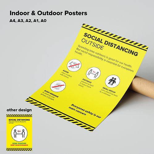 Outdoor Social Distancing Poster 1