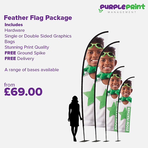 Feather Flag Package