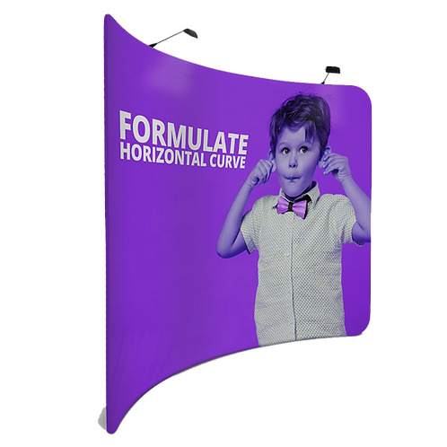 Formulate Curve - 2.4m, 3m or 6m Width - Graphics Included