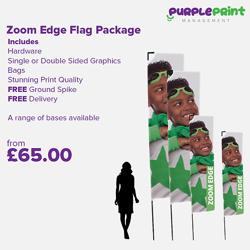 Zoom Edge Flag Package