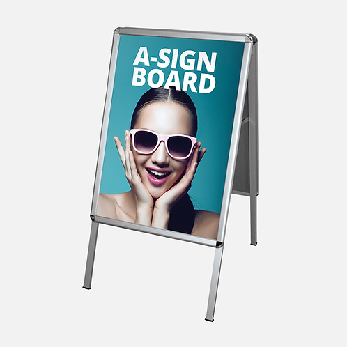 A2 Outdoor Sign Board with Graphics