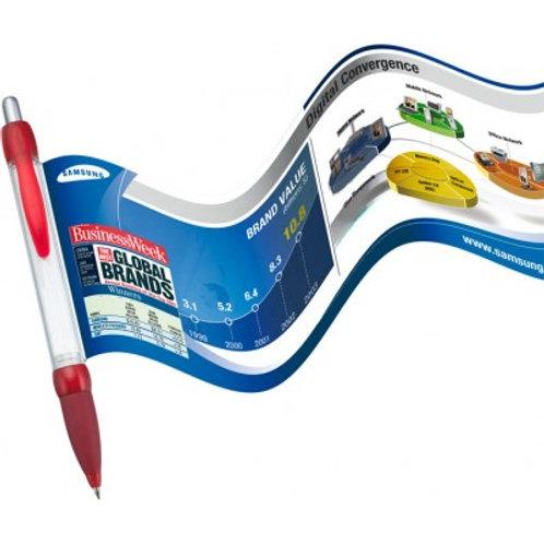 Promotional Banner Pen | Printed Full Colour