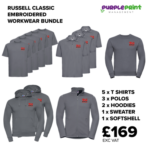 RUSSELL - Classic Workwear Bundle