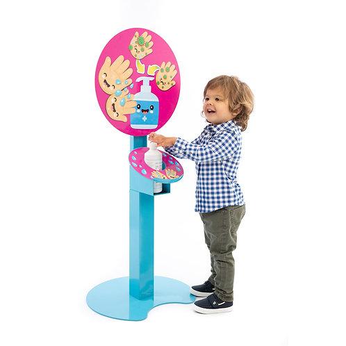 Kids Free Standing Sanitising Station