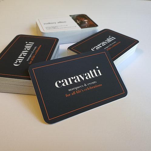 Round Cornered Premium Business Cards