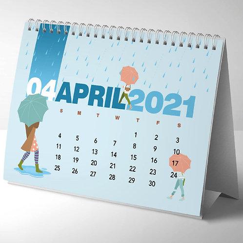 Printed Desktop Calendars   A5   Full Colour