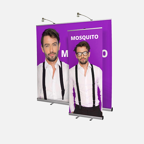 2m Wide Roller Banner - Mosquito