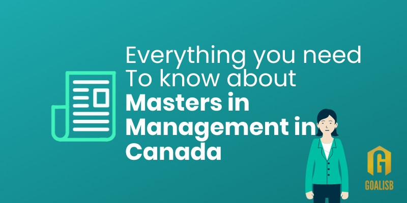 15 programs for Masters in Management in Canada