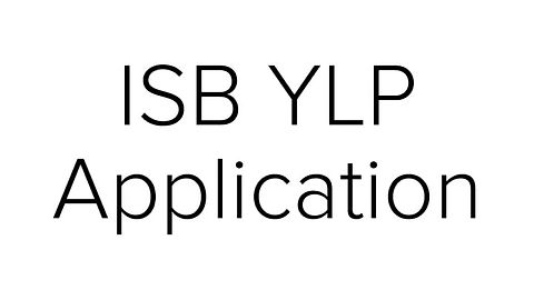 What is ISB YLP?