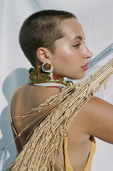 Capanema Silver Earrings