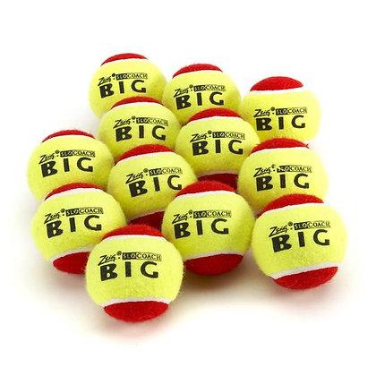 Red mini tennis training balls - ages 3-10yrs