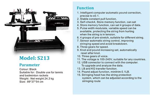 Electronic Tennis stringing machine