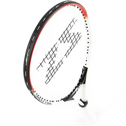 "Children's Tennis Racket ages 5-8yrs - 21"" Red, White & Black"