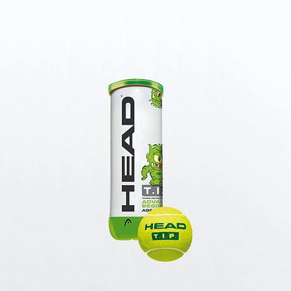 Head mini green balls for ages 9-11yrs - sold per dozen