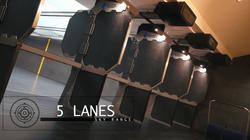 5 lanes