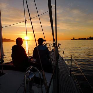 Algarve By Boat Sunset