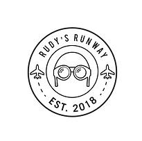 Rudy's Runway Logo b&w.png