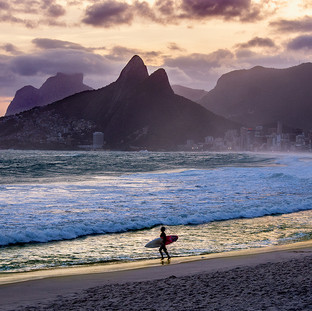 """""""Surfing In Ipanema"""""""