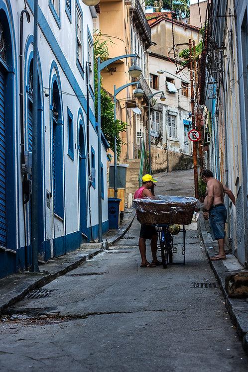 O Vendedor de Pães, Morro da Conceição