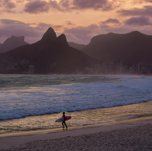 Surf in Ipanema