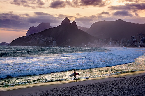 Surfing In Ipanema