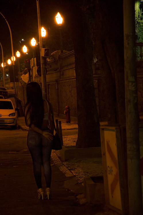 Anjos da Noite - A Mariposa, bairro da Glória