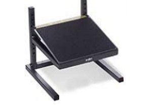 "Industrial Footrest - Adjustable Height 3"" - 11""/ 12"" W x 11"" D - 18020"