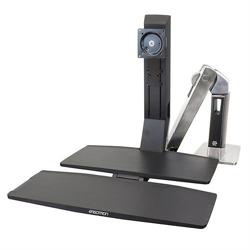 WorkFit-A, LD Combo Single LCD Sit-Stand