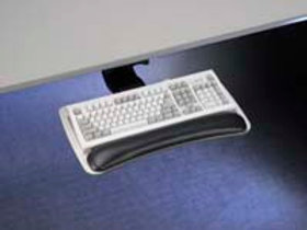"20"" Thin Width Houdini Combo Keyboard Tray & Arm short track 18in - 58009"