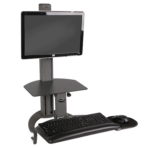 Taskmate Go Single Monitor Sit-Stand Workstation - 93901