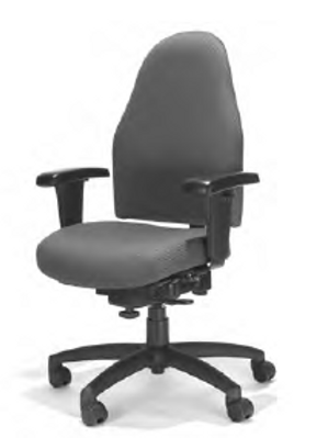 Internet Series Manager's High Back Chair