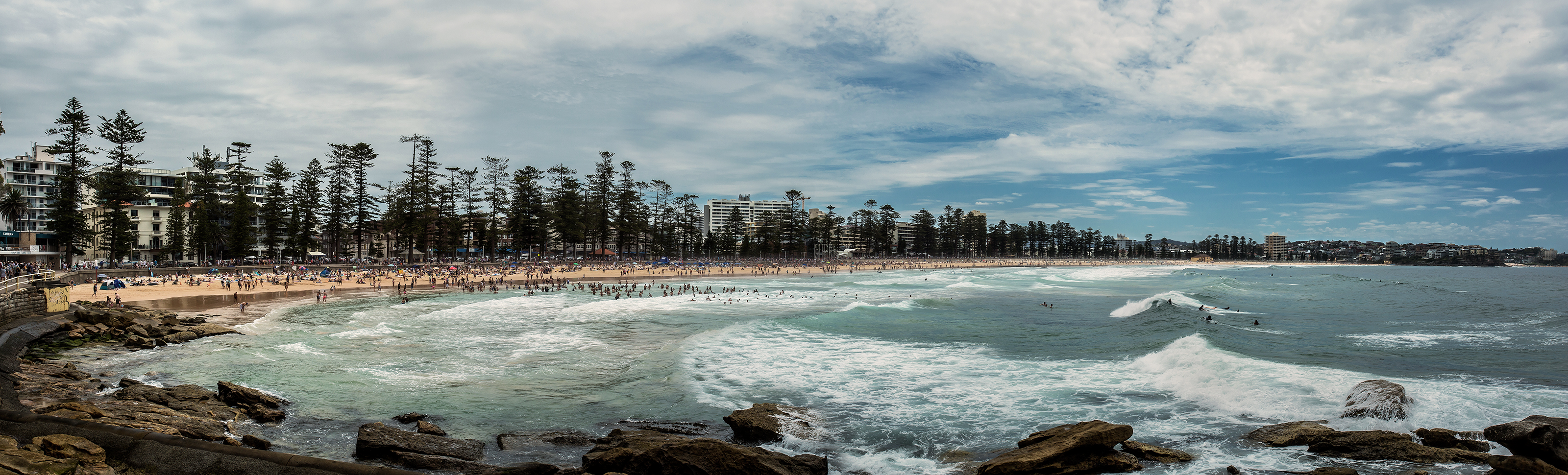4F Pano Manly Beach NSW