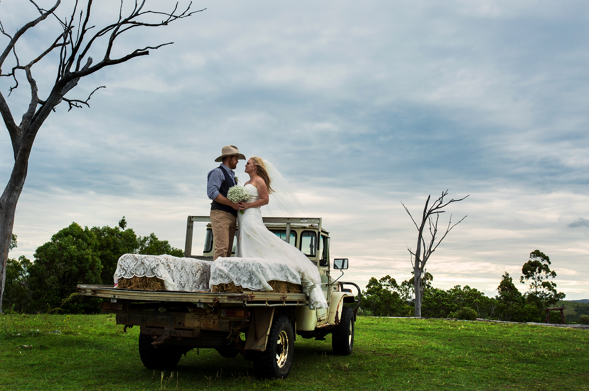 Liz and Jake on Truck