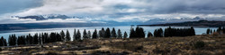 Overviewing Lake Pukaki