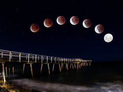Lunar Eclipse Blood Moon on 26 May 2021