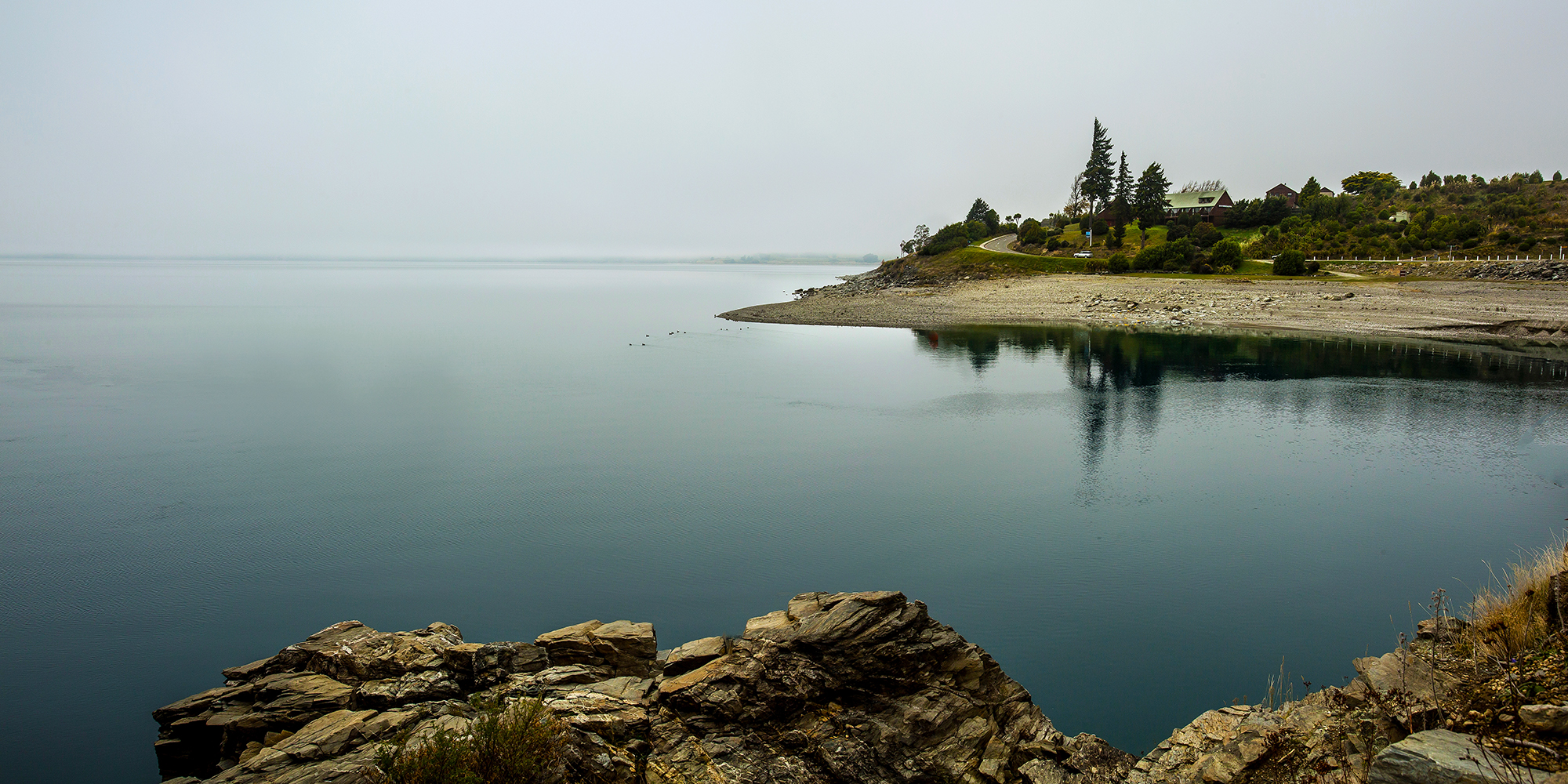 Foggy Day at Lake Hawea
