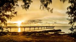 Framing the Sunset