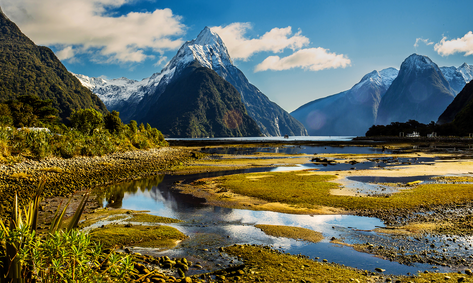 The Great Mitre Peak at Milford Sound