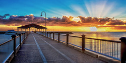Sunrise at Redcliffe Jetty