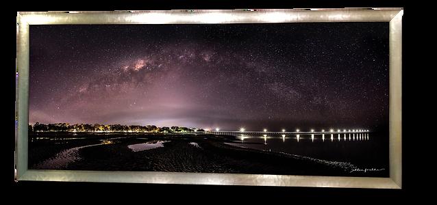 Under the Winter Galaxy at Urangan Pier