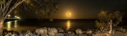 97% Spring Moonrise