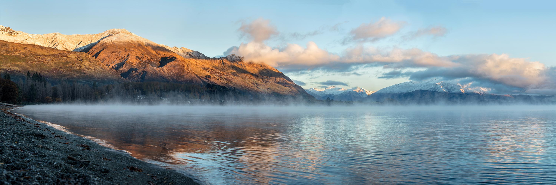 Frosty Morning at Lake Wanaka