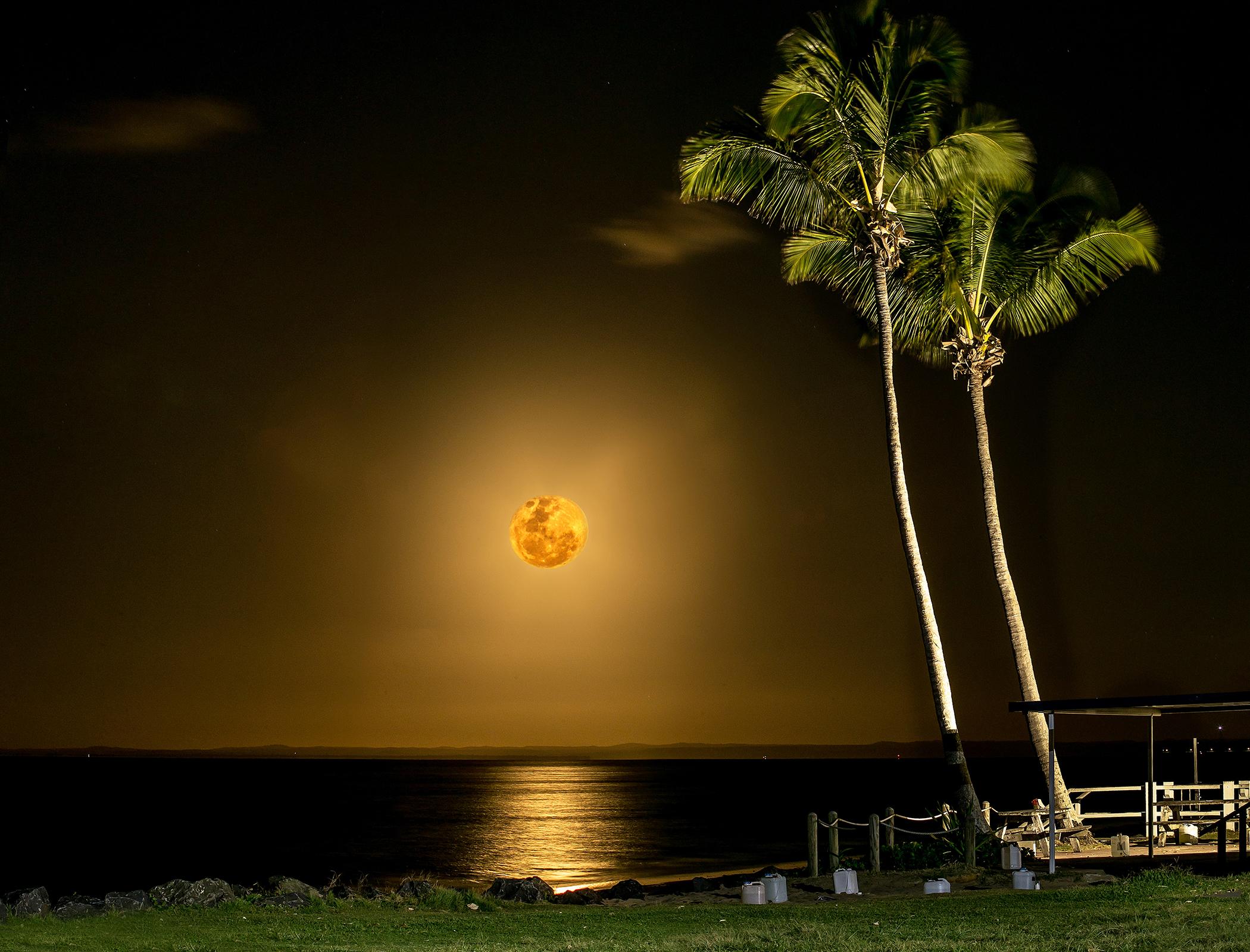 99% Spring Moonrise