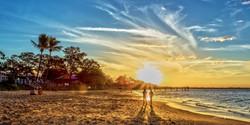 Sunset Beach 6x12