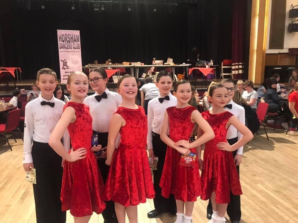 9-15 yrs Dancesport Class - 4 weeks 21/7