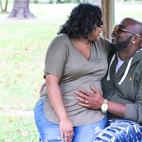 Destiny & Roosevelt 3 Months Pregnant!