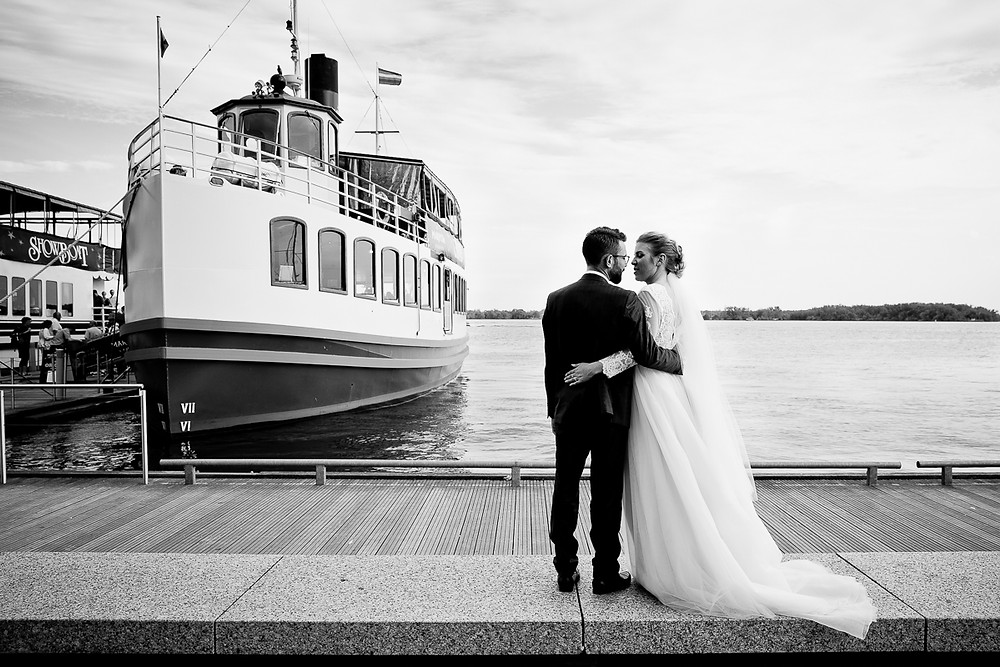 Mariposa Cruises wedding